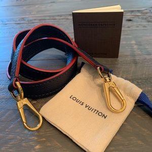 NWOT-Authentic Louis Vuitton Montaigne strap